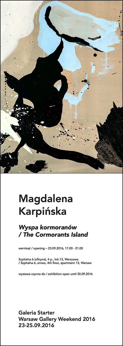 MAGDALENA KARPIŃSKA | THE CORMORANTS ISLAND