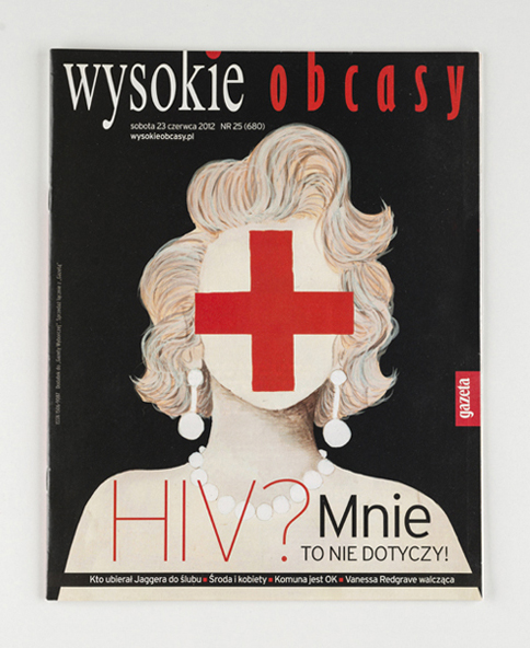 WYSOKIE OBCASY - magazine cover and illustration